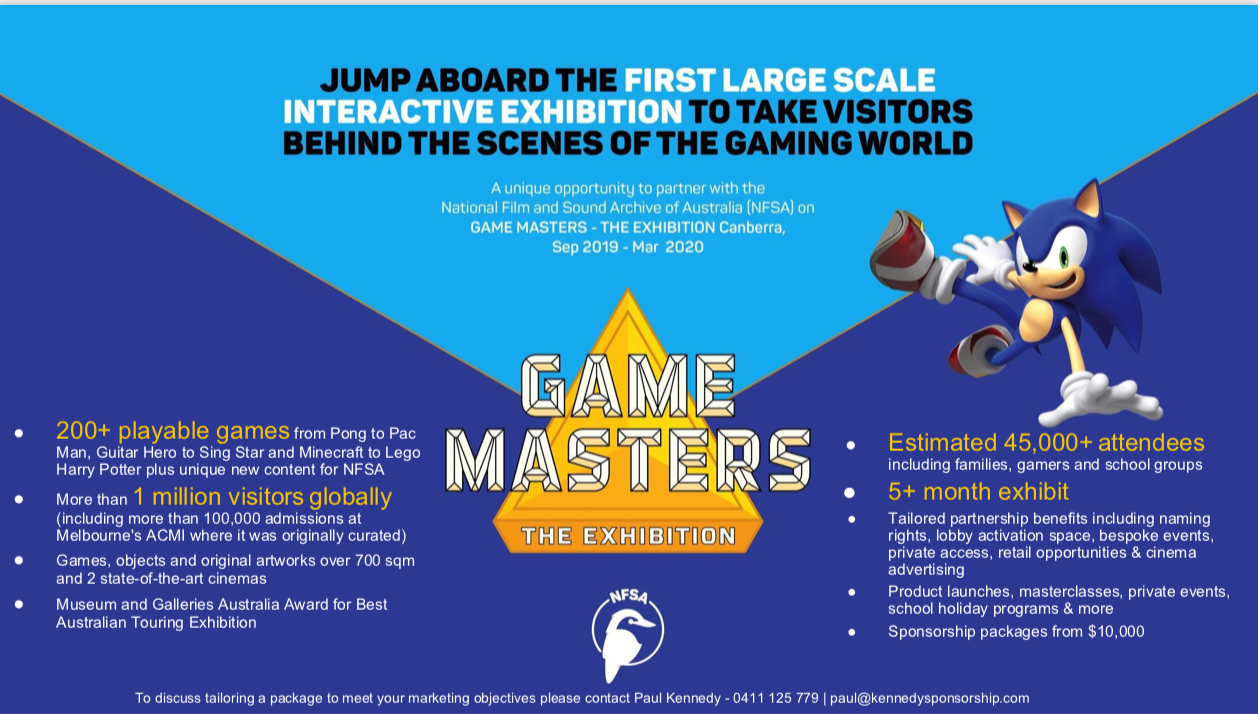 GameMasters - One Pager